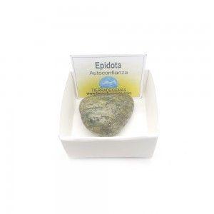 Epidota piedra rodado 3-5 cm