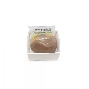 Jaspe mostaza piedra rodado 3-5 cm