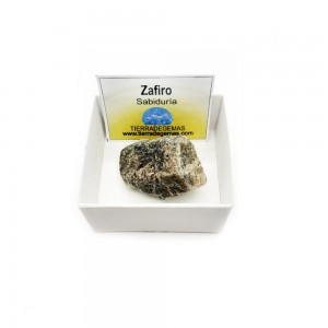 Zafiro 2-3 cm en bruto natural