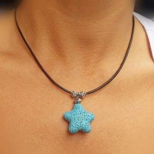 Collar Estrella Lava Color...