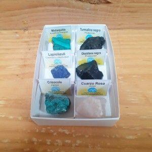 Surtido 6 Minerales en caja...