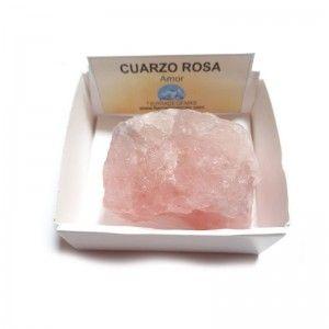Cuarzo Rosa Piedra Cristal...