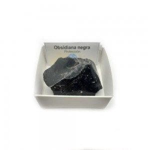 Obsidiana Negra Piedra...