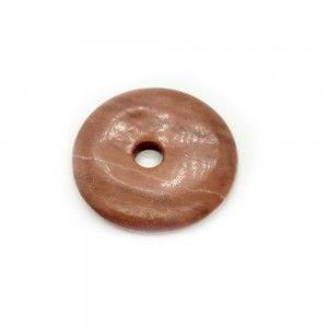 Donut Jaspe Rojo 4cm