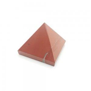 Piramide Jaspe Rojo 4cm