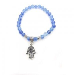 Pulsera Cuarzo azul...