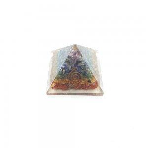 Piramide Orgonite 7 chakras...