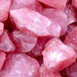 piedra cuarzo rosa