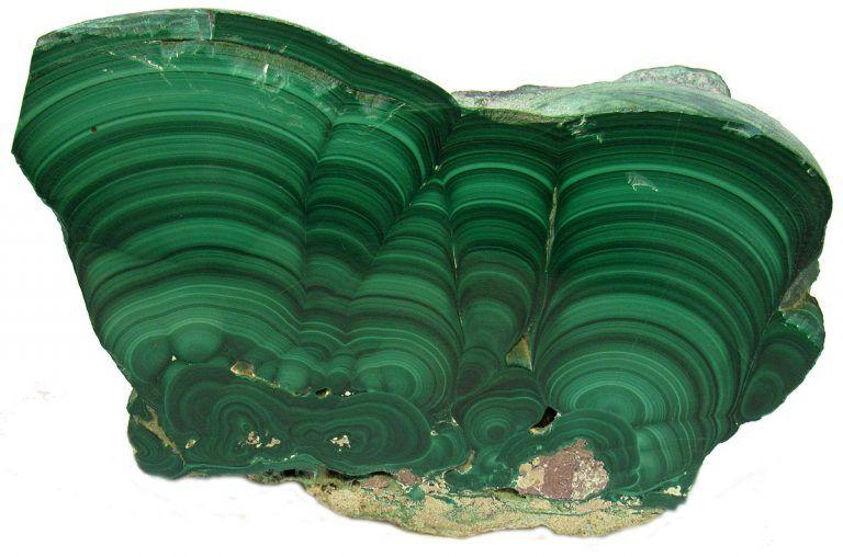 Malaquita piedra semipreciosa